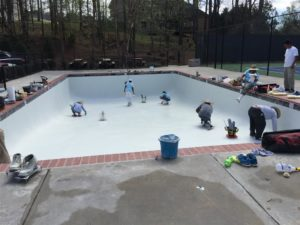 Community Swimming Pool Resurfacing